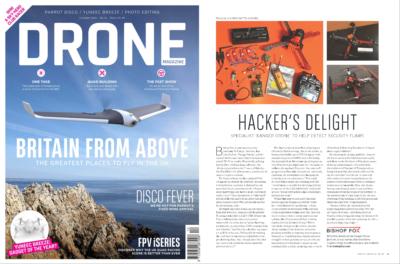 Danger Drone UK - Hacker's Delight - Danger Drone Article - Oct. 2016 Print Issue